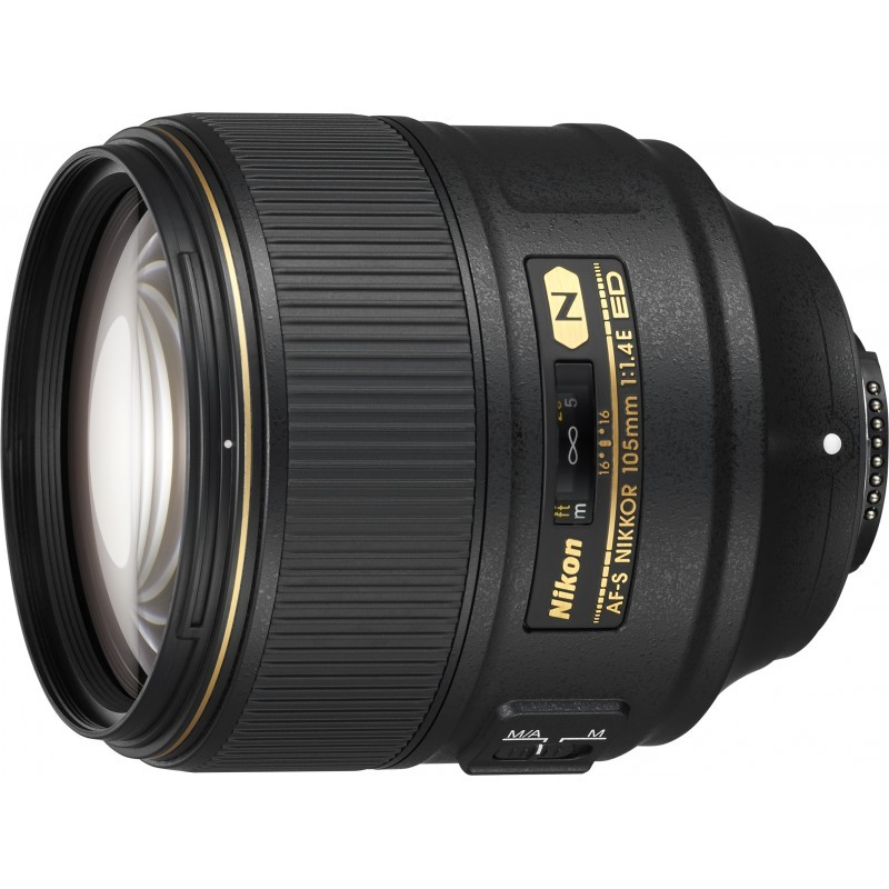 Nikon AF-S Nikkor 105mm f/1.4E ED objektiiv