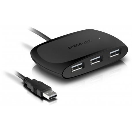 Speedlink USB hub Snappy Passive 4 portu USB 2.0 (SL-140011)