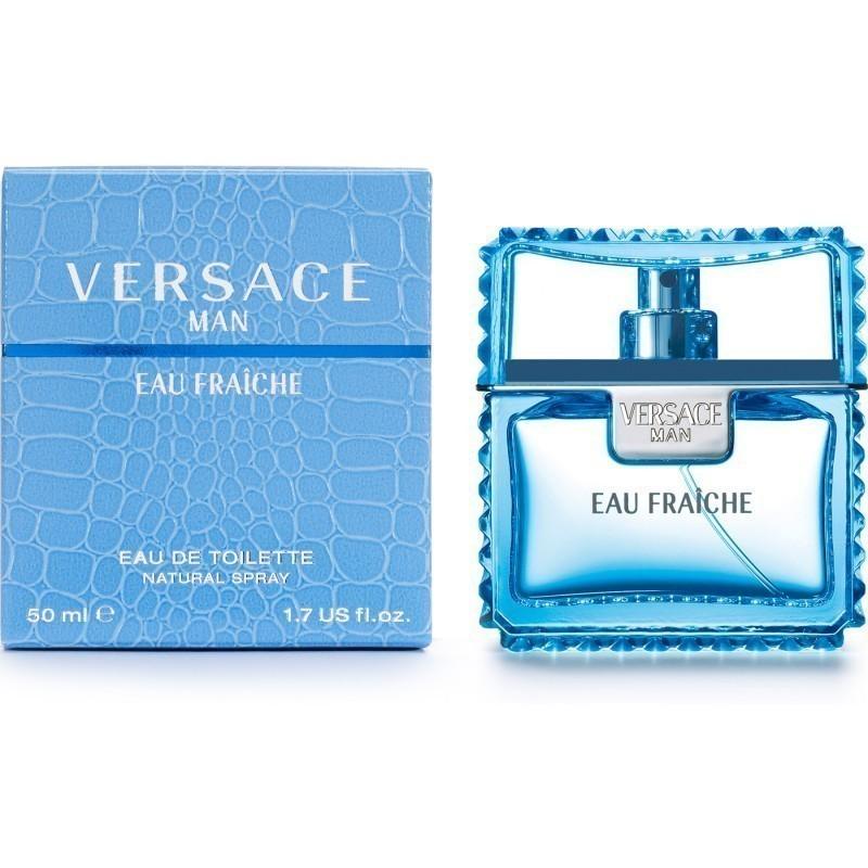 Versace Man Eau Fraiche Pour Homme Eau de Toilette 50ml