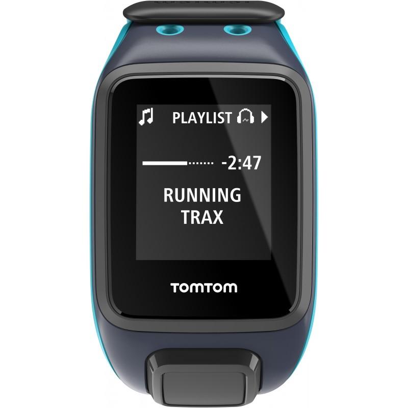 TomTom Runner 2 Cardio + Music L, sinine
