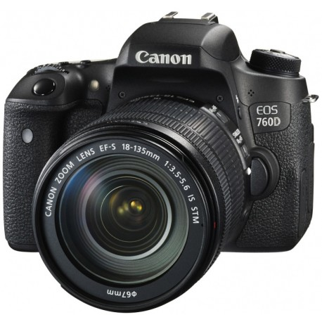Canon EOS 760D + 18-135mm IS STM Kit