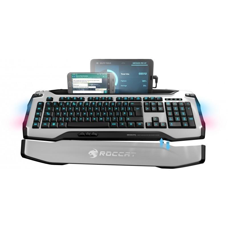 Roccat klaviatuur Skeltr US, valge (ROC-12-231-BK)