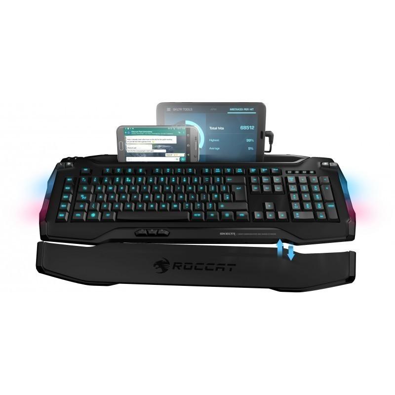 Roccat klaviatuur Skeltr US, must (ROC-12-231-BK)