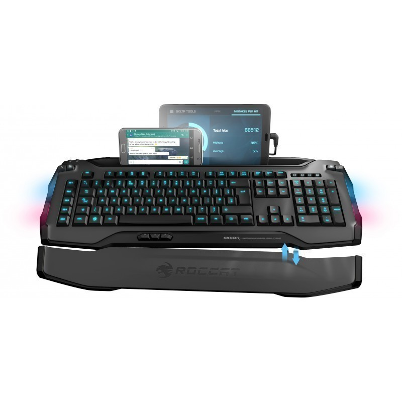 Roccat klaviatuur Skeltr US, hall (ROC-12-231-GY)