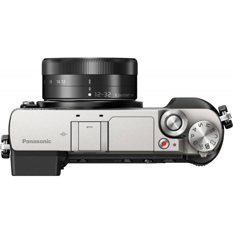 Panasonic Lumix DMC-GX80 + 12-32mm + 35-100mm Kit, hõbedane