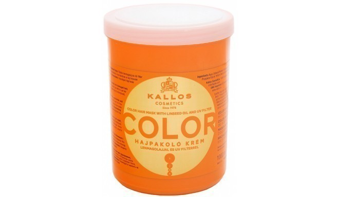 Kallos matu maska Color 1000ml