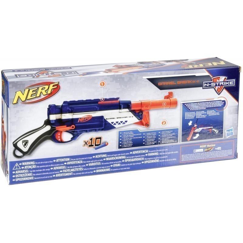 Nerf gun toy Barrel Break IX2 (A3952)