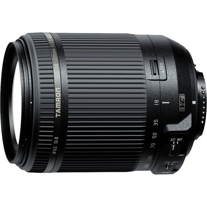 Nikon D3400 +Tamron 18-200mm VC, black