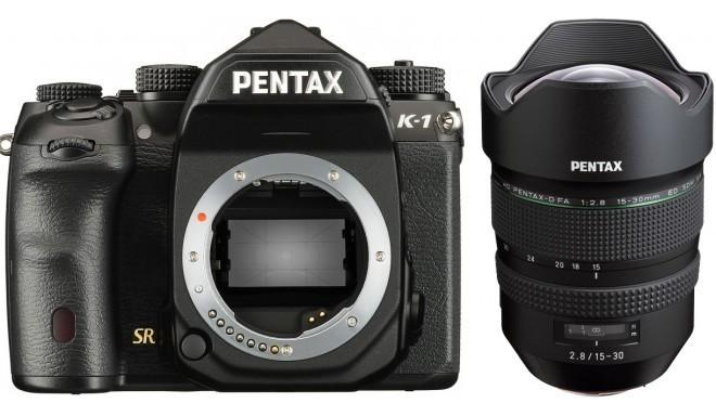 Pentax K-1 + D-FA 15-30mm f/2.8