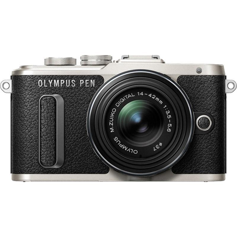 Olympus PEN E-PL8 + 14-42mm EZ Kit, black
