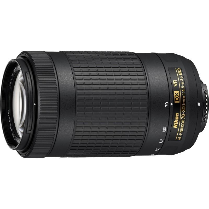 Nikon AF-P Nikkor 70-300mm f/4.5-6.3 G ED VR DX objektiiv