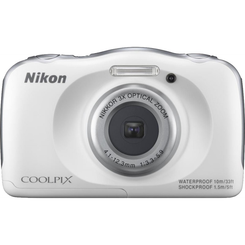 Nikon Coolpix W100, valge