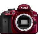 Nikon D3400 kere, red