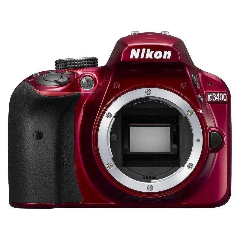 Nikon D3400 kere, punane
