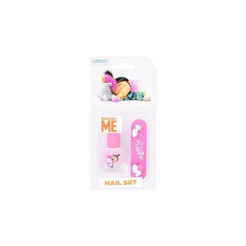 Minions Unicorn Nail Art Duo Kit (4ml) (Nail Polish 4 ml + Nail File ...