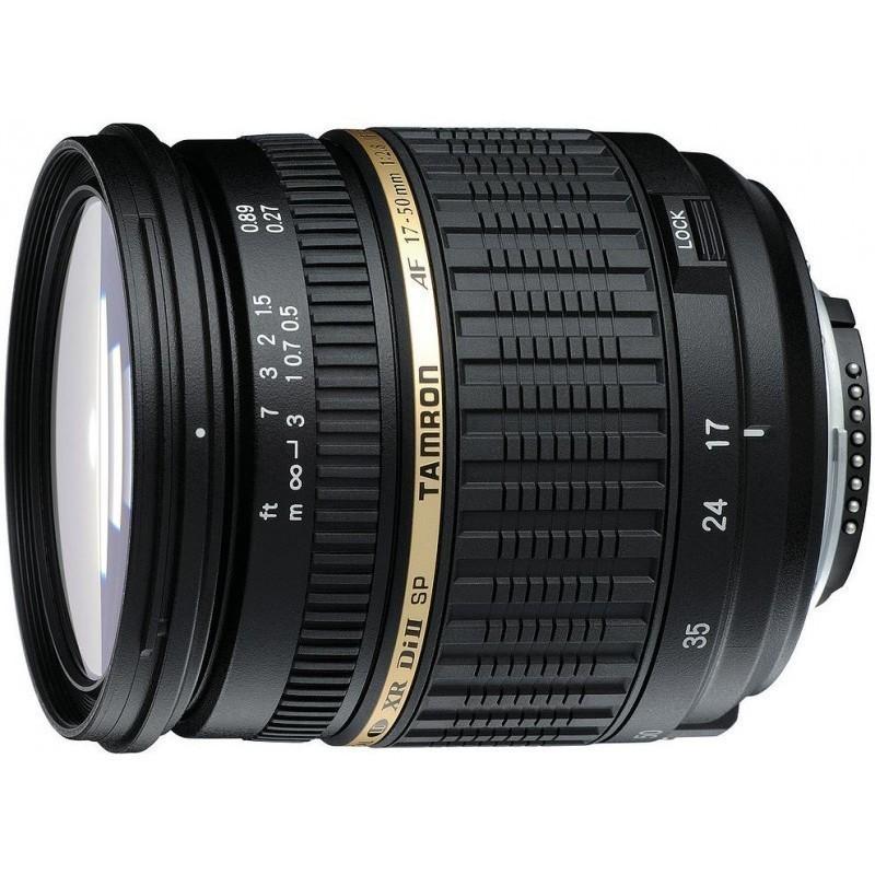Nikon D3400 + Tamron 17-50mm