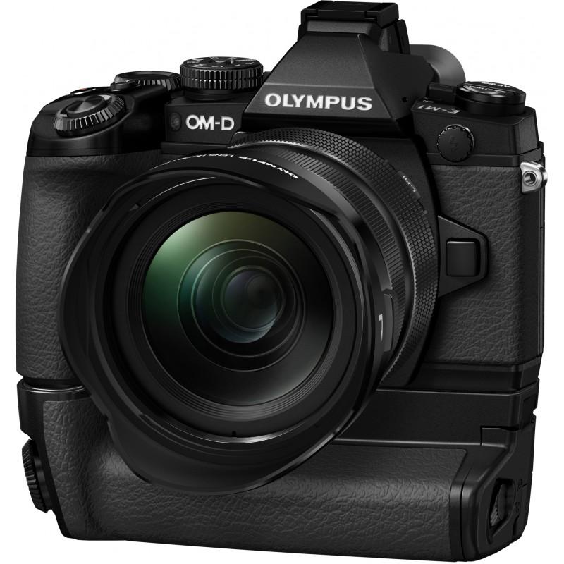 Olympus OM-D E-M1 + ED 12-40mm Kit + HLD-7 akutald