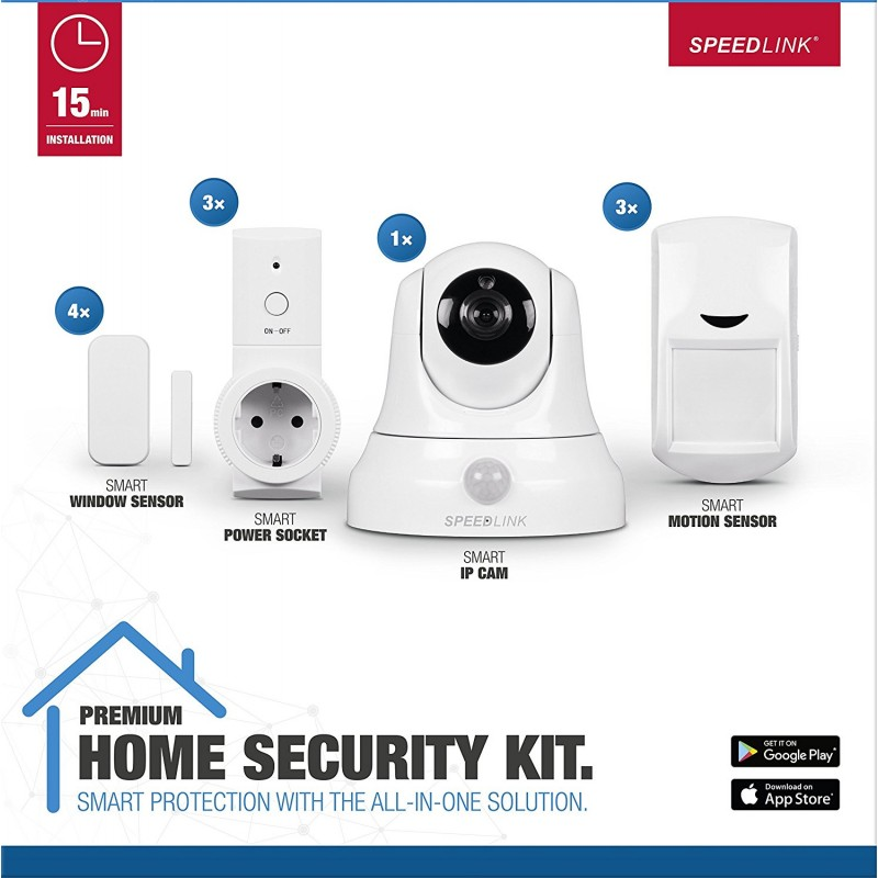 Speedlink Home Security Set Premium