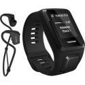 TomTom Spark 3 Music S, must + Bluetooth kõrvaklapid