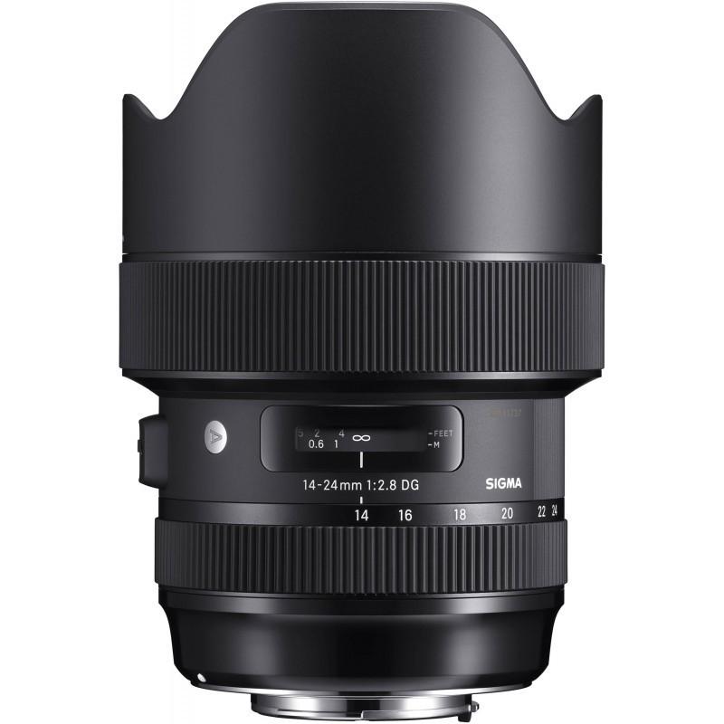 Sigma 14-24mm f/2.8 DG HSM Art objektiiv Canonile
