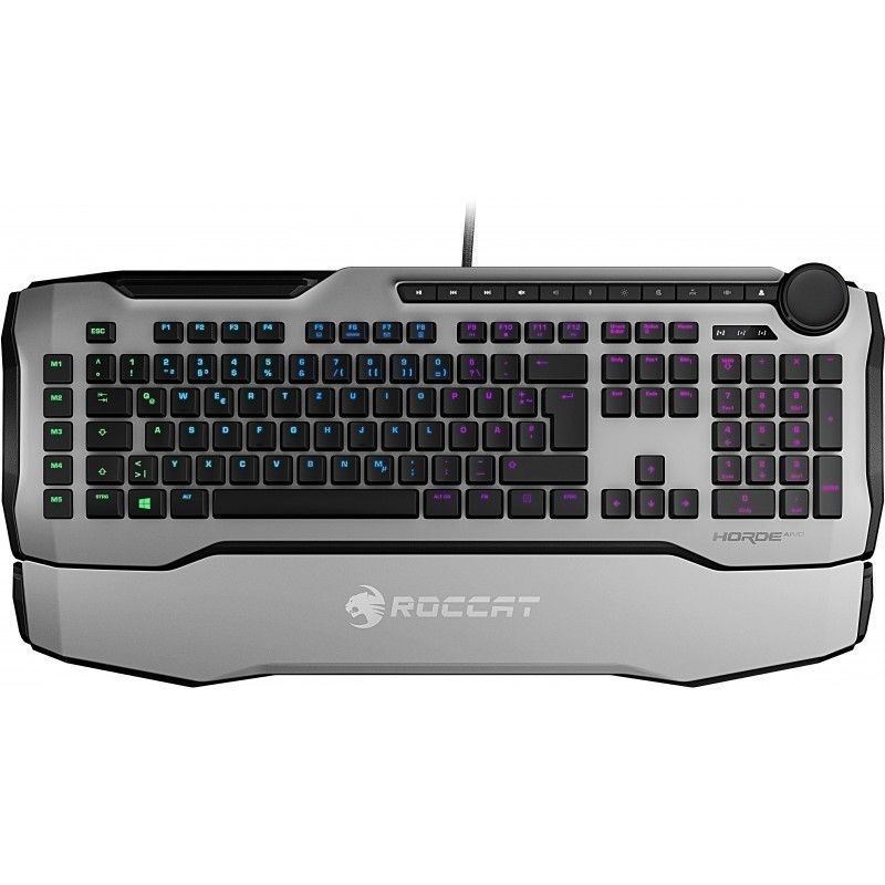 Roccat keyboard Horde Aimo Nordic, white
