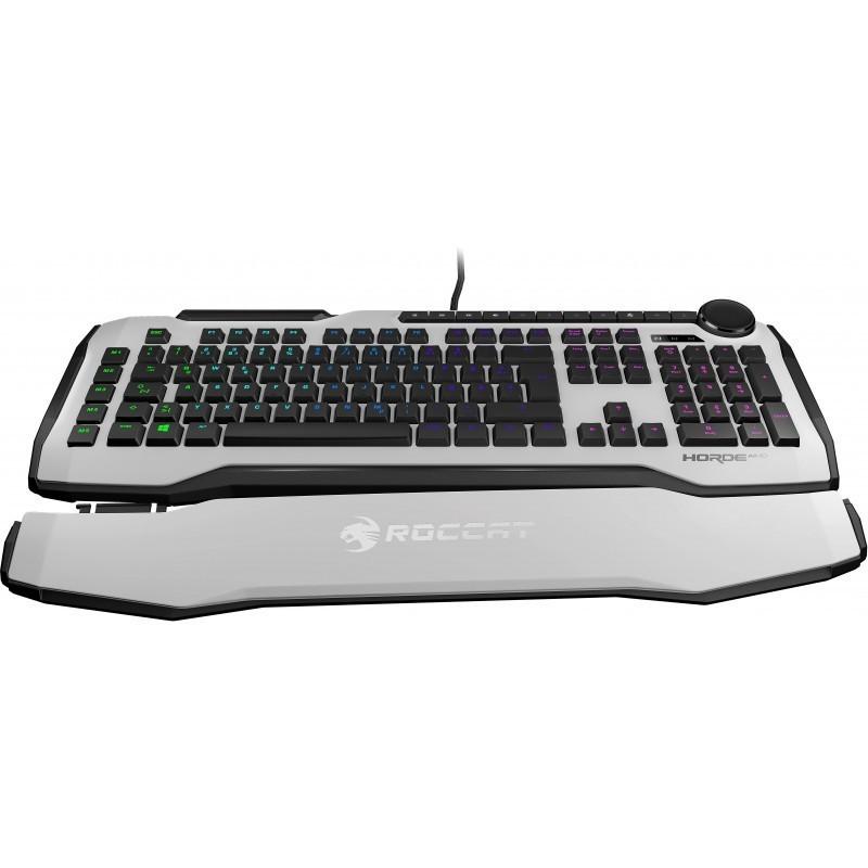 Roccat klaviatuur Horde Aimo Nordic, valge