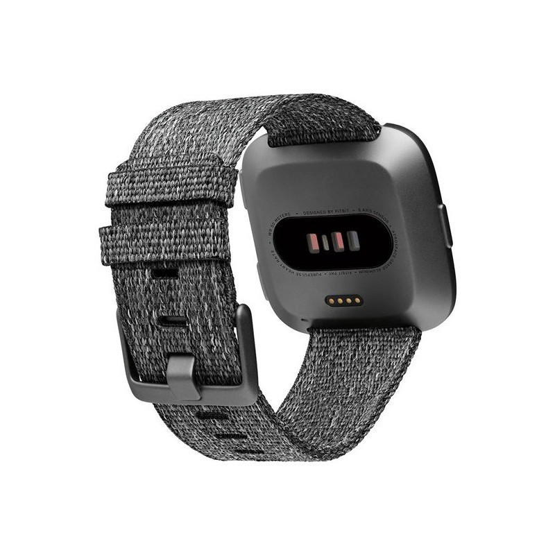 Fitbit Versa Special Edition, charcoal woven