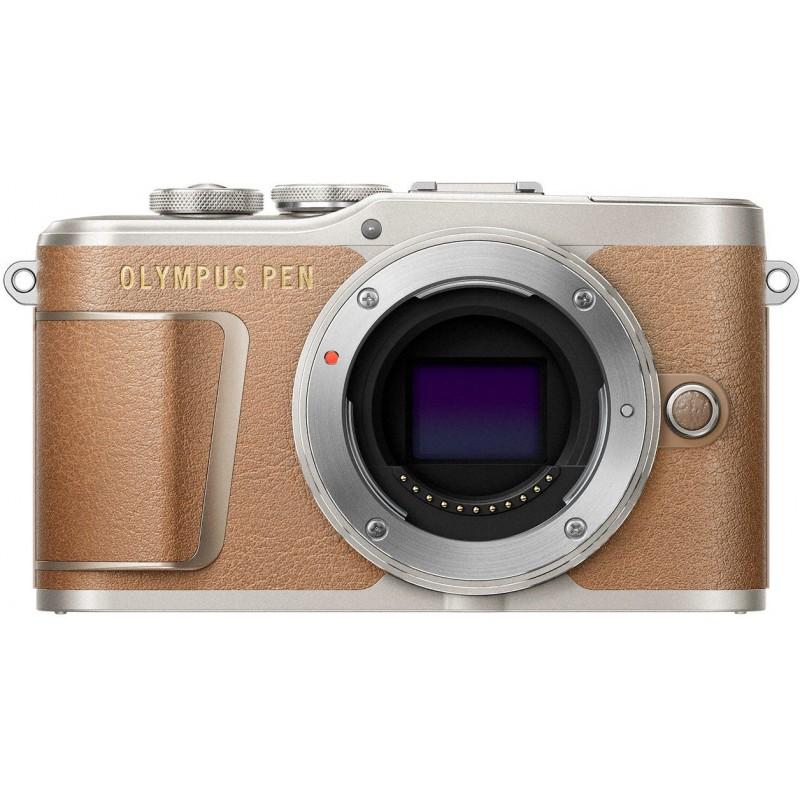 Olympus PEN E-PL9 + Tamron 14-150mm, pruun/hõbedane