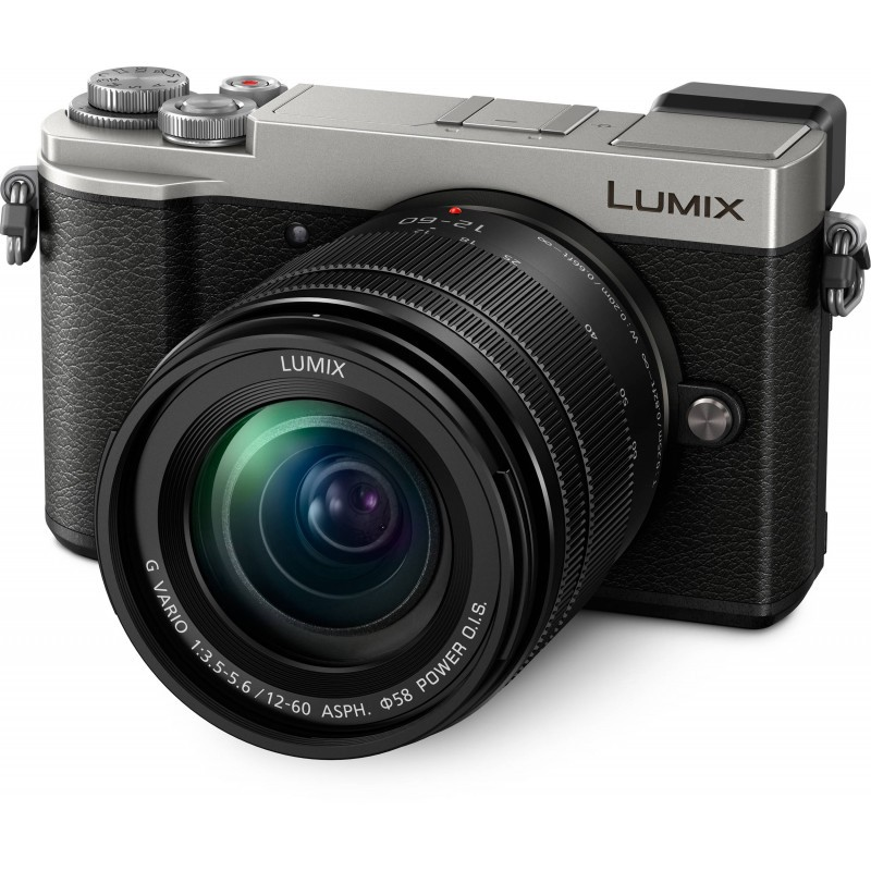 Panasonic Lumix DC-GX9 + 12-60mm f/3.5-5.6 Kit, hõbedane