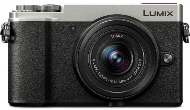 Panasonic Lumix DC-GX9 + 12-32mm Kit, hõbedane