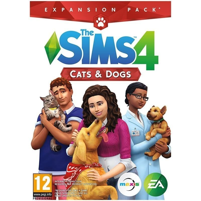 Arvutimäng The Sims 4: Cats and Dogs