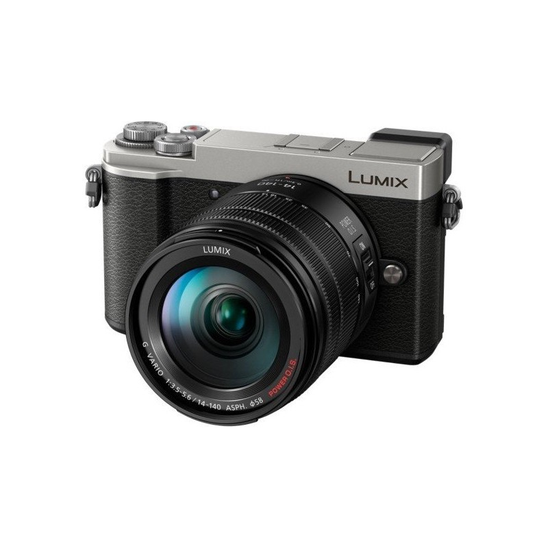 Panasonic Lumix DC-GX9 + 14-140mm Kit, hõbedane
