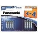 Panasonic Evolta patarei LR03EGE/8B (4+4tk)