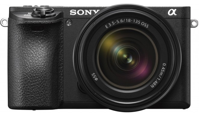 Sony a6500 + 18-135mm Kit, melns