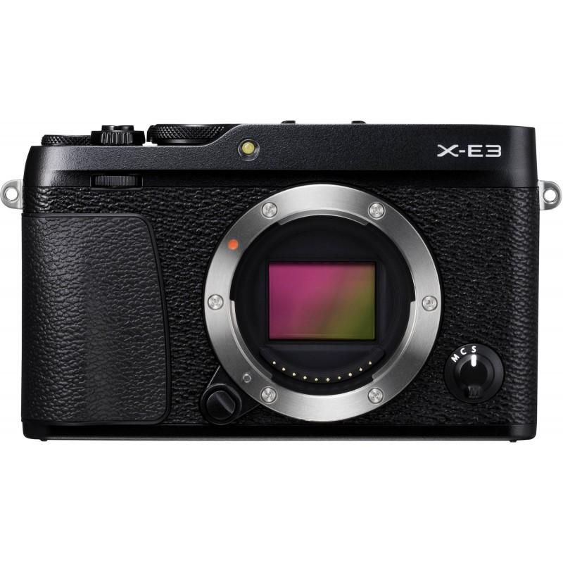 Fujifilm X-E3 + 15-45mm Kit, black