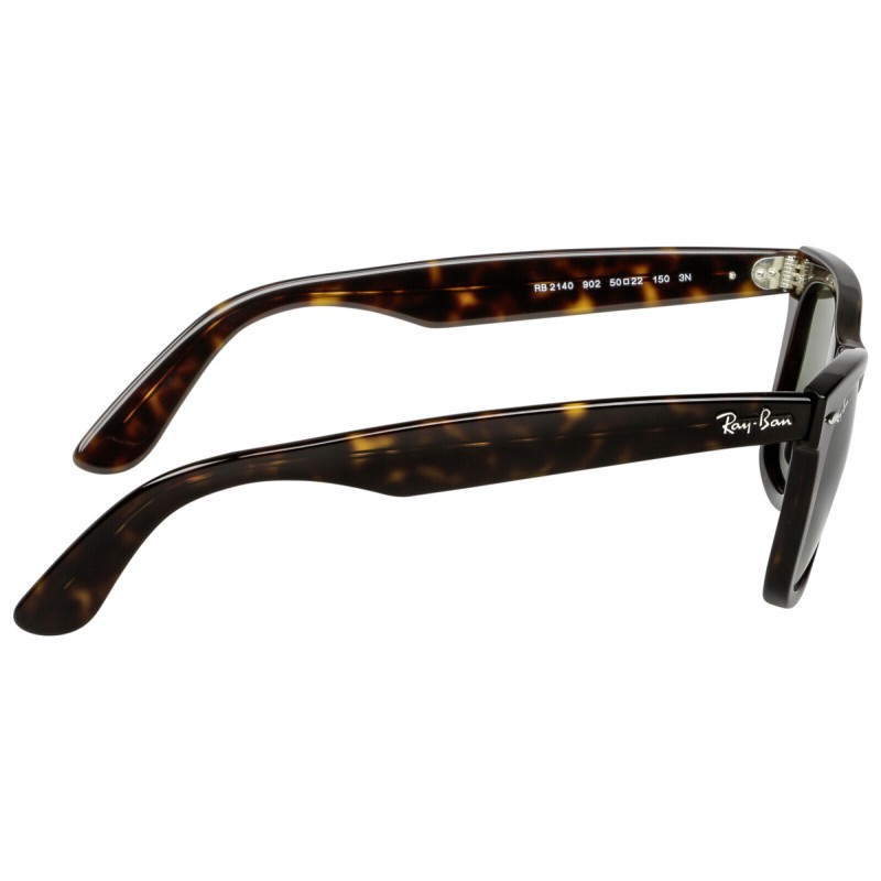 97413733c04522 RayBan Wayfarer RB2140 902 50 tortoise crystal green - Sunglasses ...