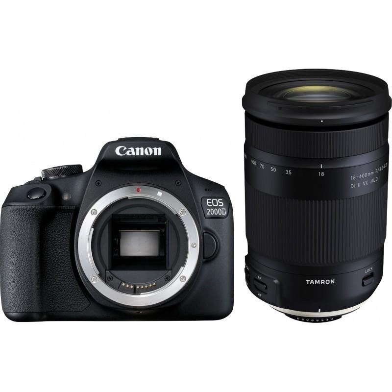 Canon EOS 2000D + Tamron 18-400mm VC