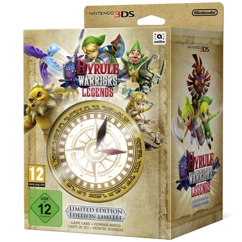 Nintendo 3DS Hyrule Warriors: Legends Limited Edition