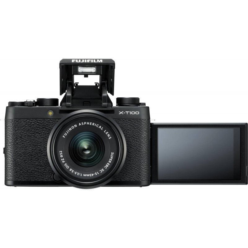 Fujifilm X-T100 + 15-45mm Kit, must