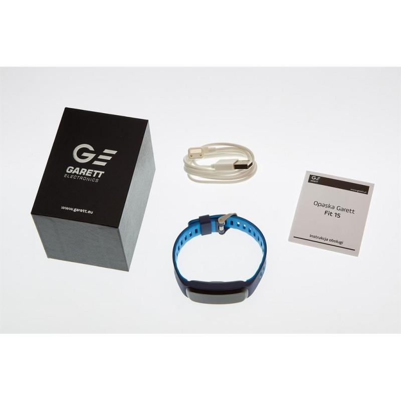 75581ce73be74 Smartband, Opaska Sportowa Garett Fit 15 Blue
