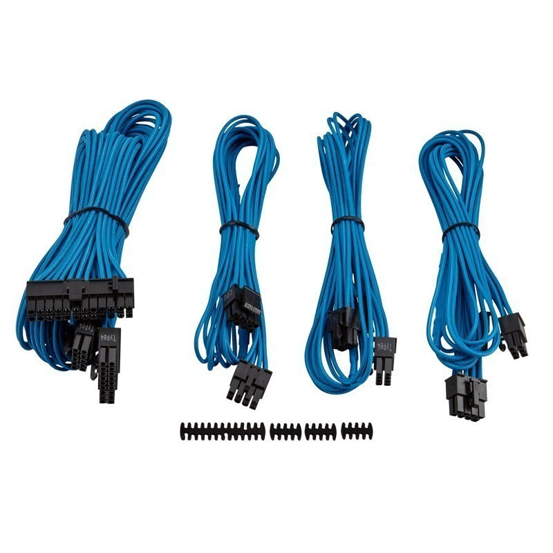 Corsair Professional Individually sleeved DC Cable Kit, Type 4 (Gen ...