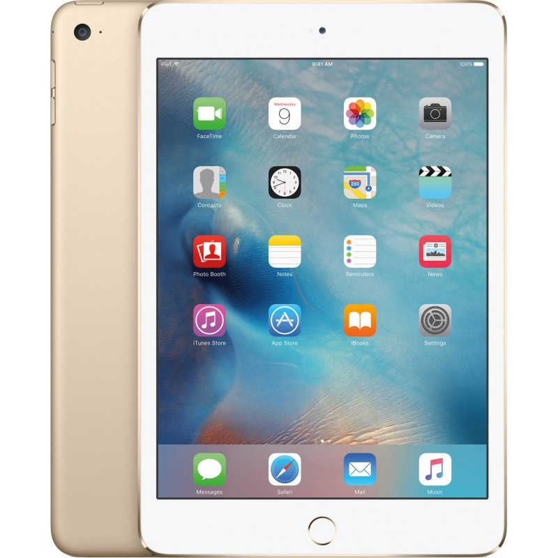 apple ipad mini 4 wifi 32gb gold tablets photopoint. Black Bedroom Furniture Sets. Home Design Ideas