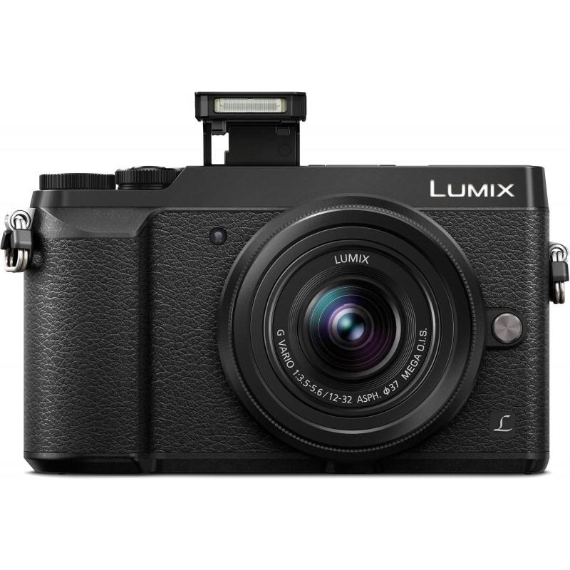 Panasonic Lumix DMC-GX80 + 12-32mm Kit, must + lisaaku