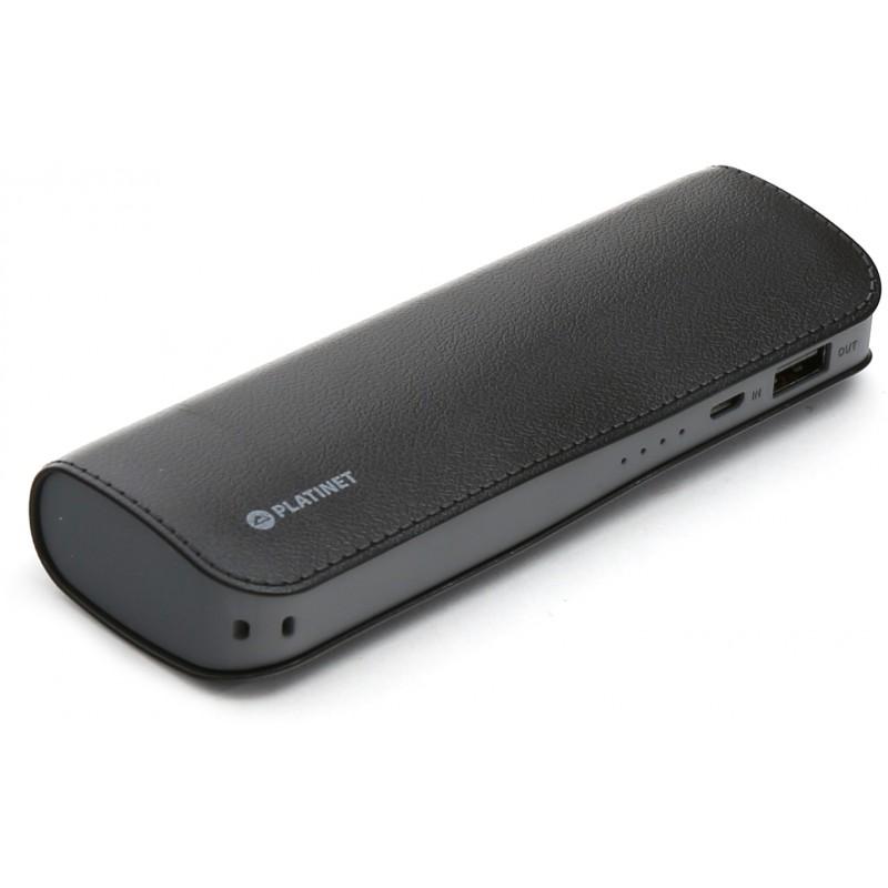 Platinet lādētājs-akumulators 7200mAh, melns (43412)