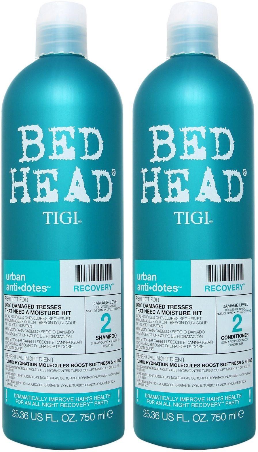 Tigi Bed Head Recovery šampoon + palsam 2x750ml
