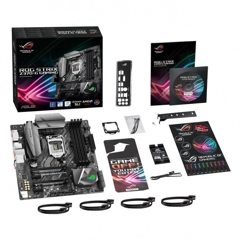 Asus mainboard ROG STRIX Z370-G LGA 1151 4xDDR4 DIMM Micro ATX CrossFire SLI