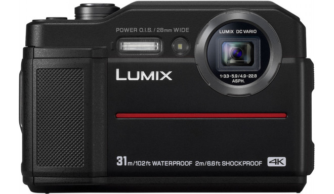 Panasonic Lumix DC-FT7, melns