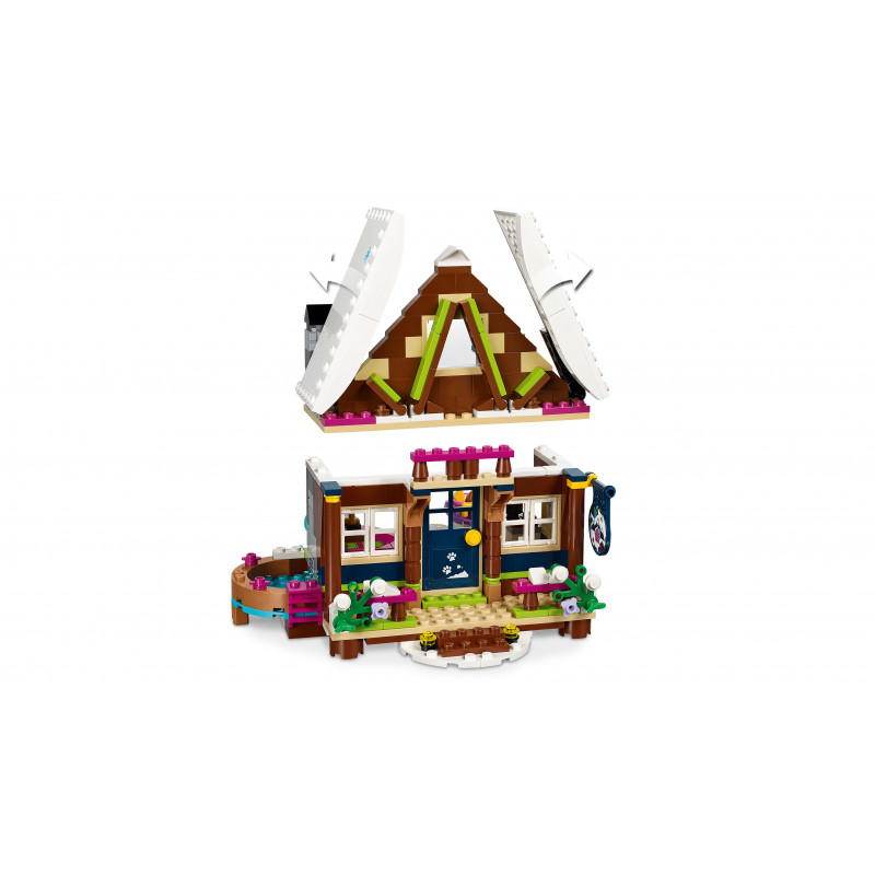 402 Piece LEGO Friends Snow Resort Chalet 41323 Building Kit