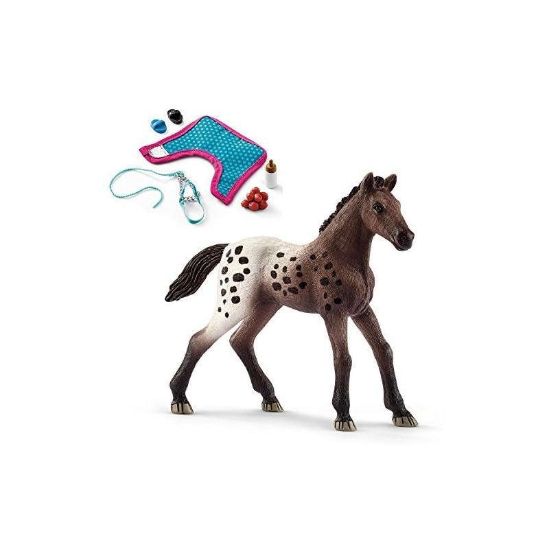 ... Toys Games  cheap sale 579ca b1344 Schleich Horse Club Appaloosa Foal -  13862 ... bfb1ffbce5