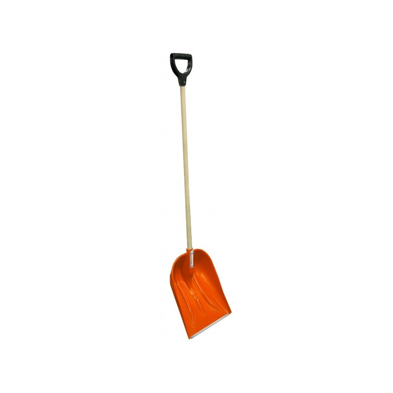 Snow Shovel Alpin 2a Wooden Handle